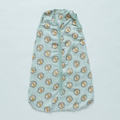 Patina Vie Sleepsack 100% Cotton Wearable Blanket - Fox