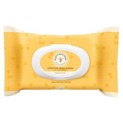 Burt's Bees Baby Wipes, Chlorine-Free - 72 ct