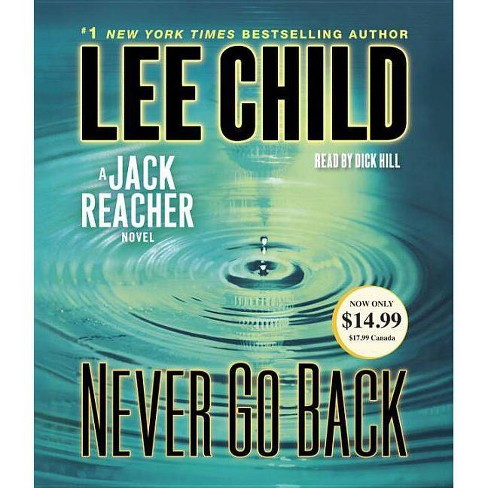Never Go Back - (Jack Reacher)by  Lee Child (AudioCD) - image 1 of 1