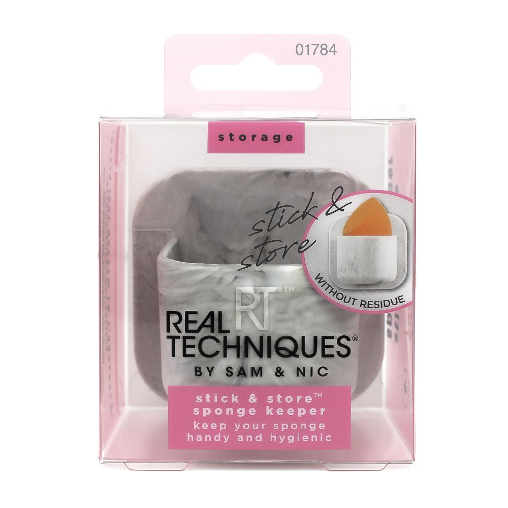 Real Techniques Stick & Store Sponge Keeper - 1ct