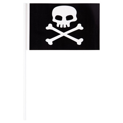 8ct Plastic Pirate Flag Banner