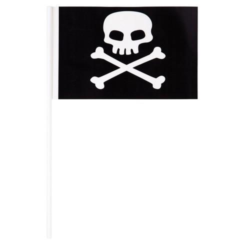 8ct Plastic Pirate Flag Banner