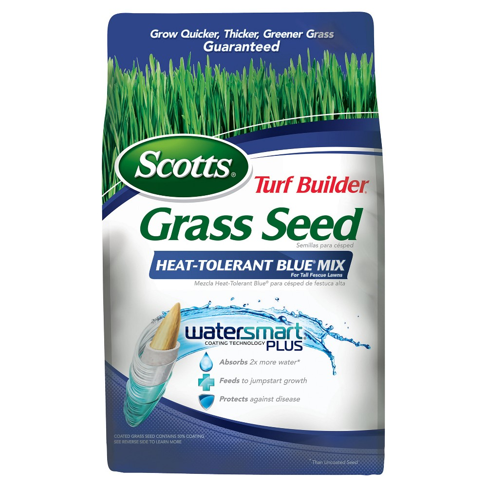 Image of Scotts Turf Builder Grass Seed Heat Tolerant Bluegrass Mix 3lb
