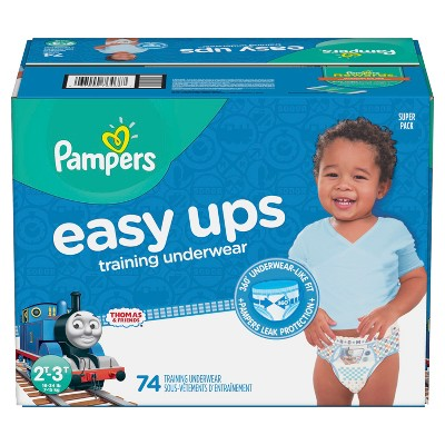 Pampers Easy Up Thomas & Friends Training Pants 2T-3T (74ct)-Boys