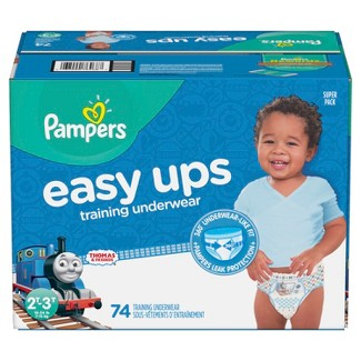 Pampers Easy Up Thomas & Friends Training Pants 2T-3T (74ct) -Boys