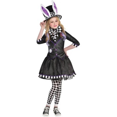 Amscan Down The Rabbit Hole Girls/' White Rabbit Party Costume