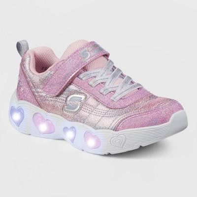 Girls' S Sport by Skechers Jaelyn Light-Up Apparel Sneakers - Pink
