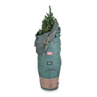 Tree Keeper Green Large Adjustable Upright Christmas Tree Protective Storage Bag - Hold 7' Trees