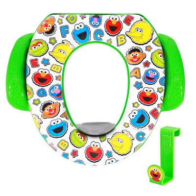 "Sesame Street ""ABC Crew"" Soft Potty Seat with Potty Hook"