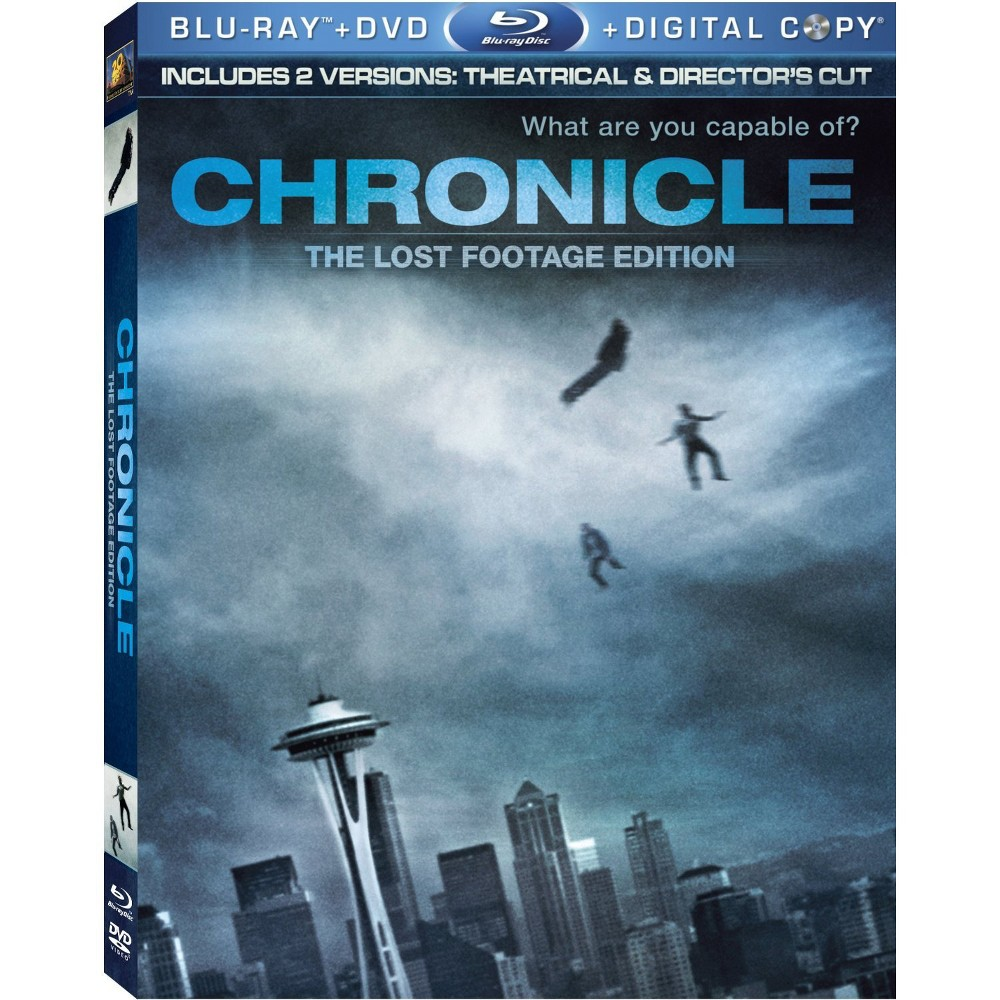 Chronicle (The Lost Footage Edition) (2 Discs) (Includes Digital Copy) (Blu-ray/Dvd)
