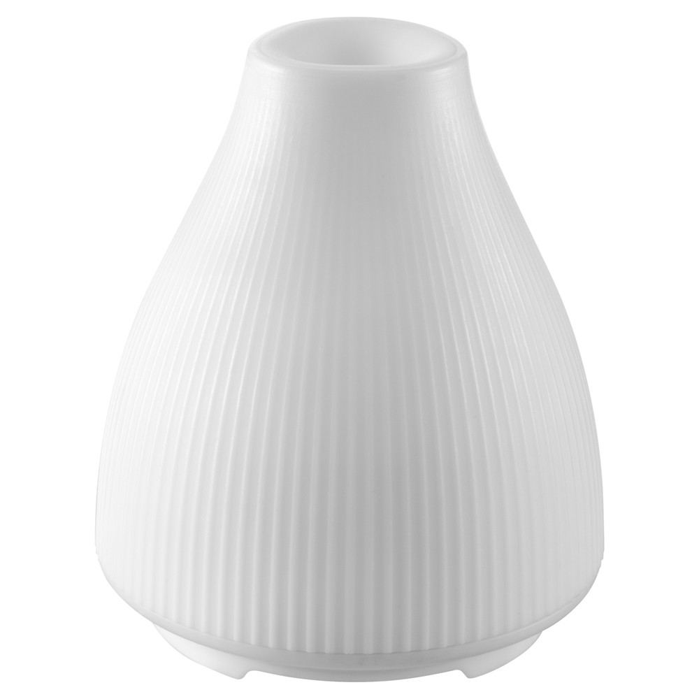Image of Homedics Aroma Diffuser with Soft Glow, Medium Off-White