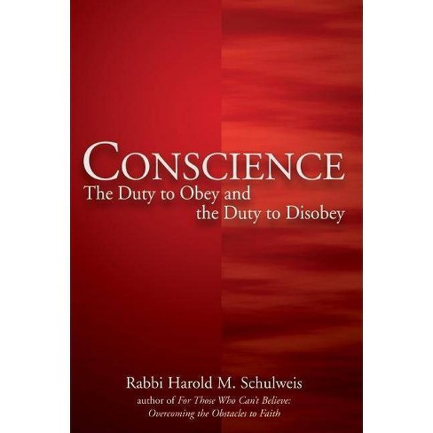 Conscience - by  Harold M Schulweis (Hardcover) - image 1 of 1
