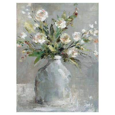 30 x40  Country Bouquet 1 By Carol Robinson Art On Canvas - Fine Art Canvas