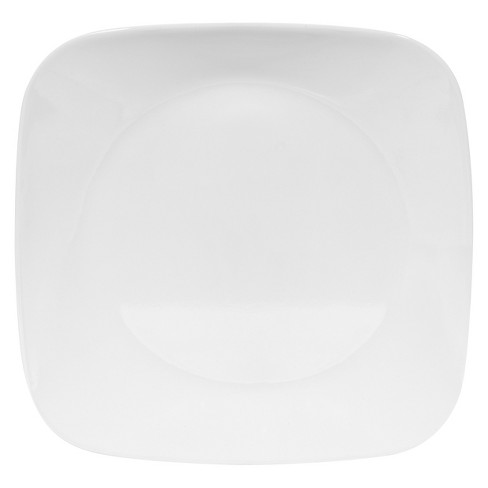 "Square Salad Plate Pure White - Corelle® 9""x9"" - image 1 of 1"