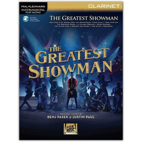 Hal Leonard The Greatest Showman Instrumental Play-Along Series for Clarinet Book/Online Audio - image 1 of 1