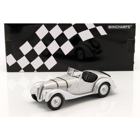 1936 BMW 328 Silver Limited Edition to 504pcs 1/18 Diecast Model Car by Minichamps - image 1 of 3