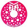 Flying Discs BYA Sports -Green Tangerine Pink - image 2 of 4