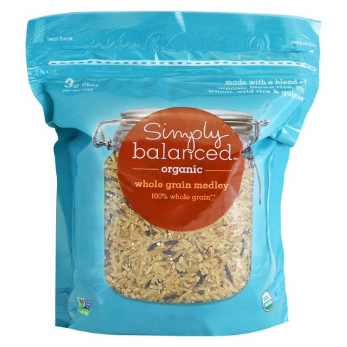 Organic Whole Grain Medley Rice - 30oz Simply Balanced™ - image 1 of 1