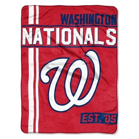 MLB Washington Nationals Micro Fleece Throw Blanket - image 1 of 2
