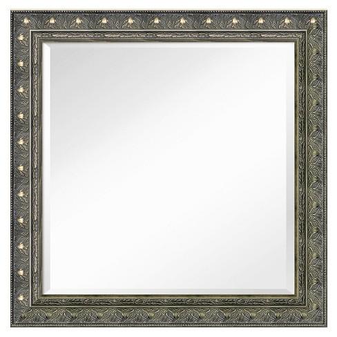 Square Barcelona Decorative Wall Mirror - Amanti Art - image 1 of 4