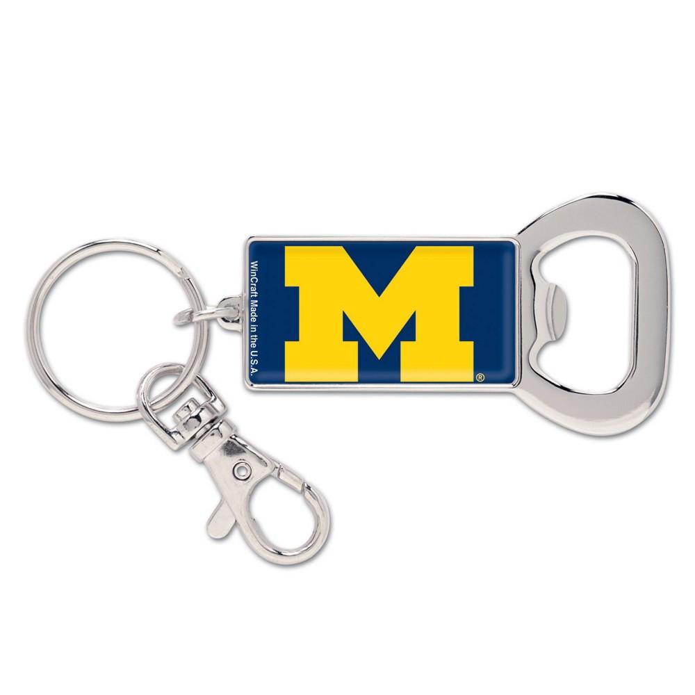NCAA Michigan Wolverines Lanyard Bottle Opener Keychain NCAA Michigan Wolverines Lanyard Bottle Opener Keychain Gender: Unisex. Pattern: Team logo.