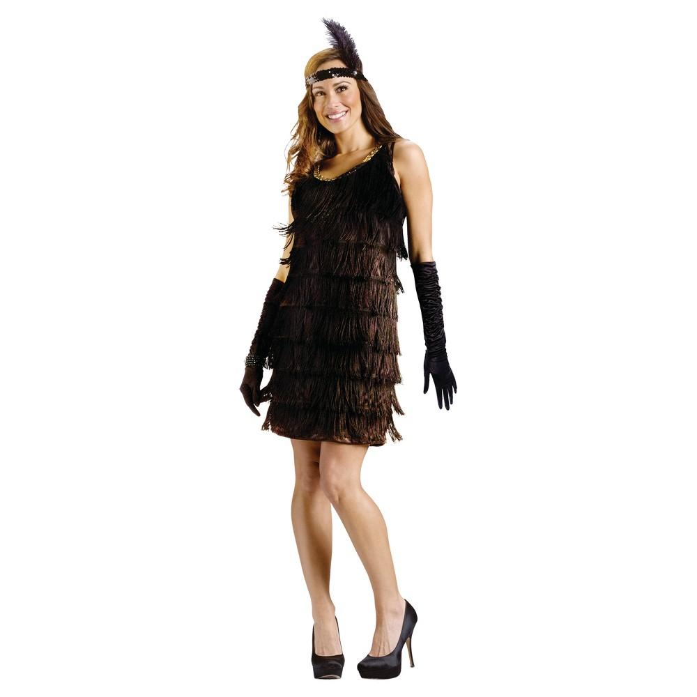 Flapper Women's Costume - (M/L), Black