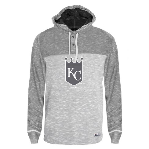 c1f853b471a MLB Kansas City Royals Men s Clubhouse Tonal Henley Hoodie   Target