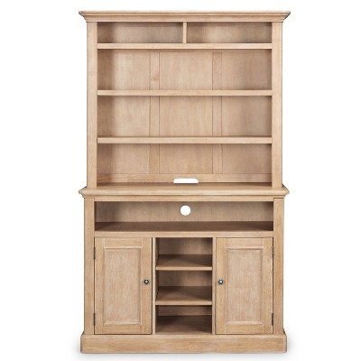 Cambridge Buffet & Hutch White Washed - Home Styles