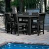 Weatherly 7pc Rectangular Counter Dining Set - Highwood - image 2 of 4