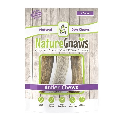 Dog Treats: Nature Gnaws Antler Chews