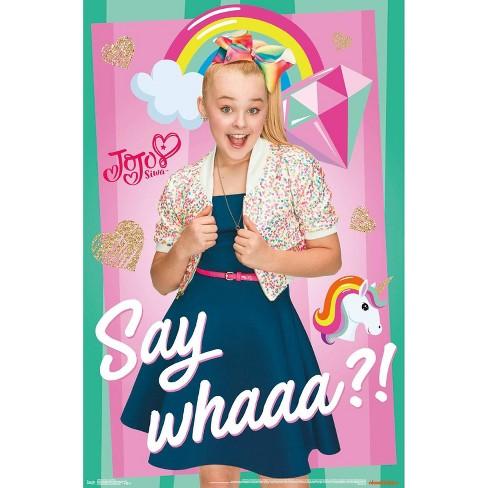 "34""x23"" JoJo Siwa Say Whaaa Unframed Wall Poster Print - Trends International - image 1 of 2"