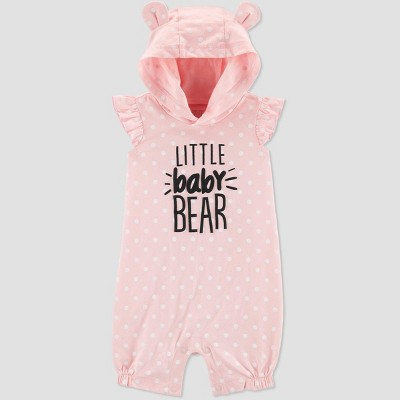 Baby Girls' Family Love 1pc 'Little Baby Bear' Romper - Just One You® made by carter's Pink 6M
