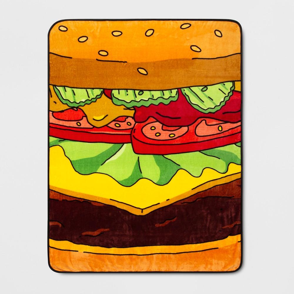 "Image of ""Bob's Burgers 46""""x60"""" Throw Blanket"""