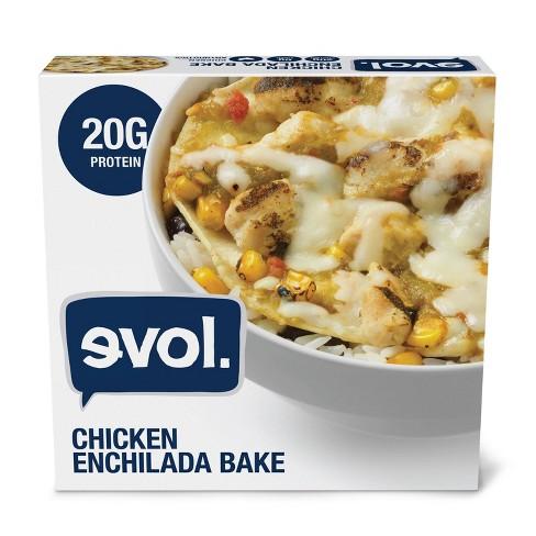 Evol Gluten Free Frozen Chicken Enchilada Bowl - 9oz - image 1 of 3