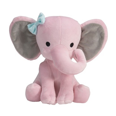 Bedtime Originals Twinkle Toes Elephant Plush - Pink - image 1 of 3