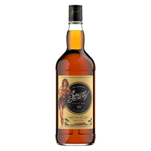 Sailor Jerry Spiced Rum - 1L Bottle - image 1 of 1