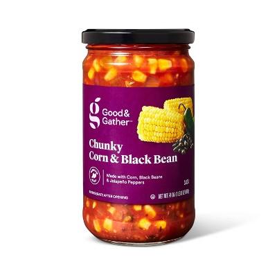 Medium Corn & Black Bean Salsa 24oz - Good & Gather™