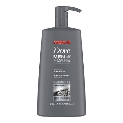 Dove Men + Care Elements Charcoal Fortifying Deep Cleanse Shampoo - 25.4 fl oz