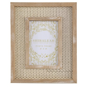 """Cambria Ivory 4"""" X 6"""" Picture Frame - Shiraleah"""