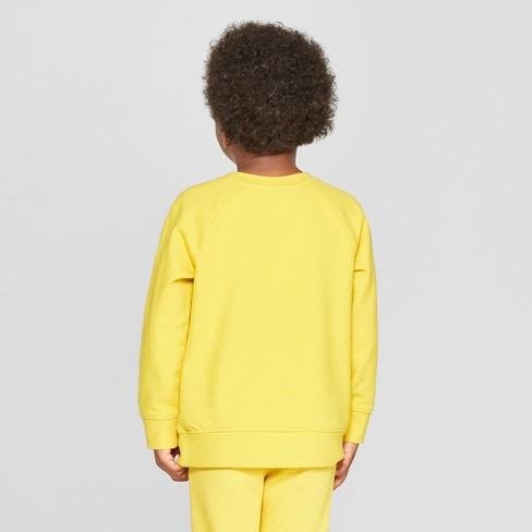a9634f16a Toddler Boys' Bear Graphic Critter Sweatshirt - Cat & Jack™ Yellow ...