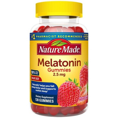 Nature Made Melatonin Gummies - Strawberry