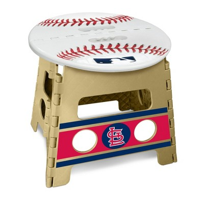 "MLB St. Louis Cardinals 13"" Folding Step Stool"