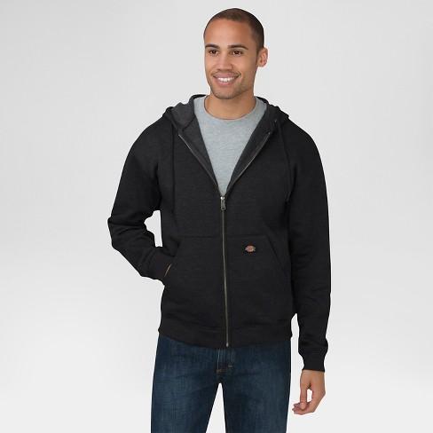 2ecbfbae2b Dickies Men's Midweight Fleece Full Zip Hoodie : Target