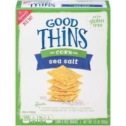Good Thins: The Corn One - Sea Salt Chips - 3.5oz