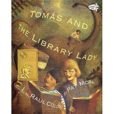 Tomas and the Library Lady - (Dragonfly Books) by  Pat Mora (Paperback)
