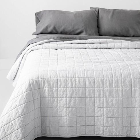 Heavyweight Linen Blend Quilt - Casaluna™ - image 1 of 2