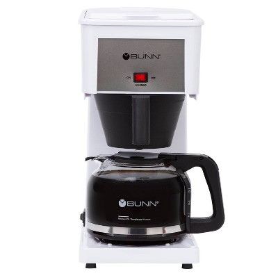 BUNN Velocity Brew 10 Cup Coffee Brewer - White GR-W