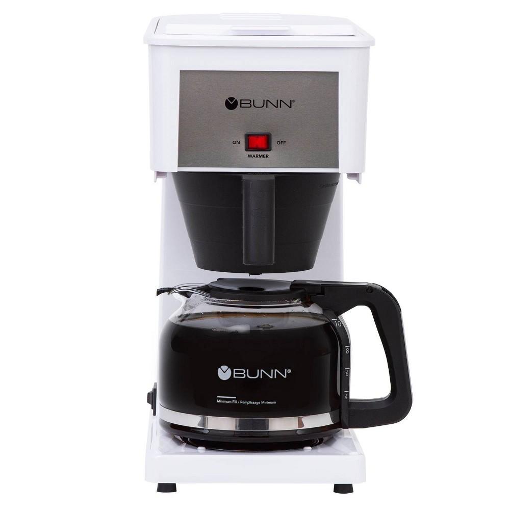 Bunn Velocity Brew 10 Cup Coffee Brewer - White GR-W