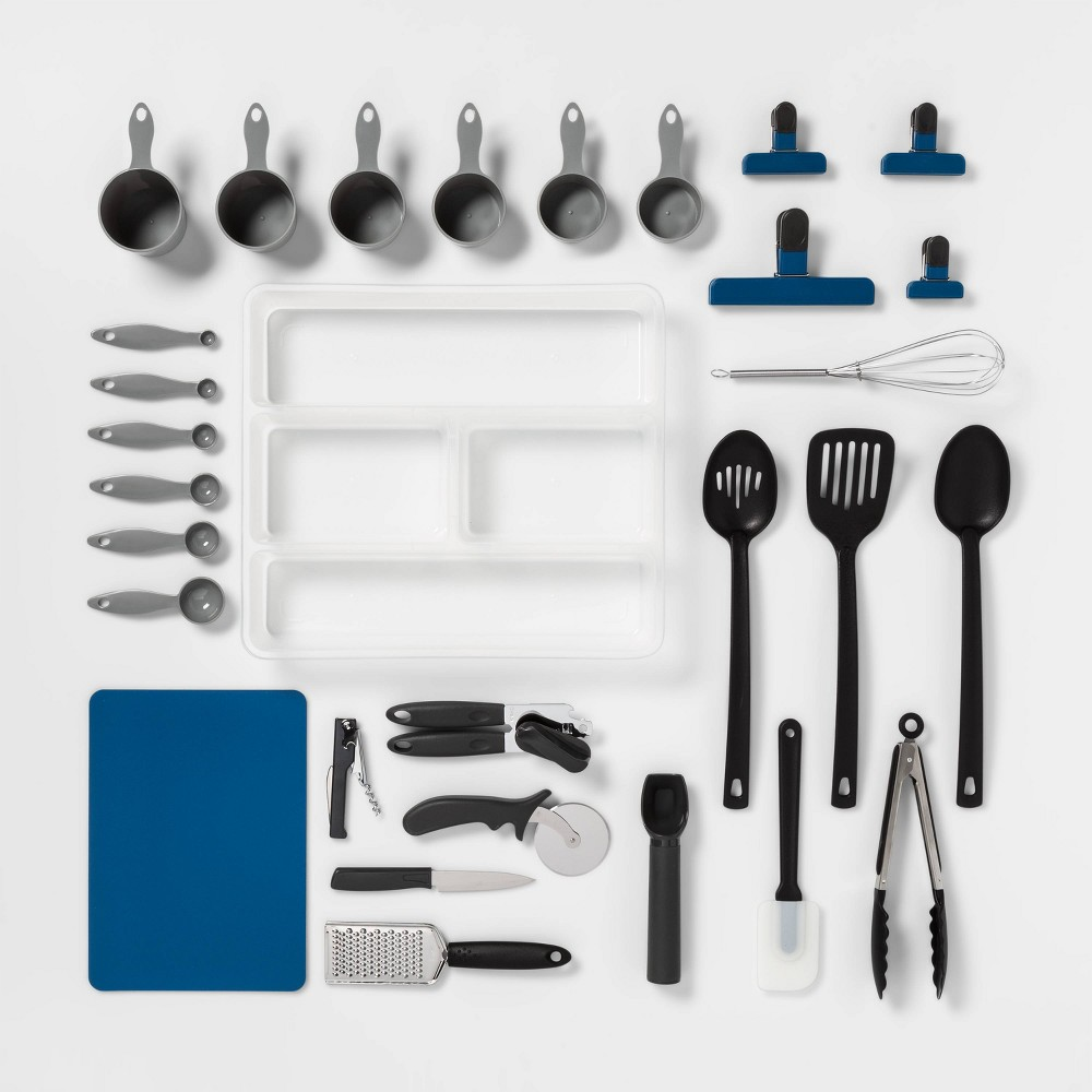 Image of 30pc Kitchen Utensil Set - Room Essentials