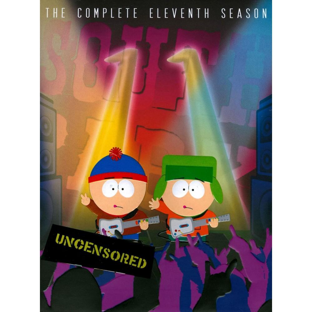 South Park: The Complete Eleventh Season (3 Discs) (DVD) Cheap